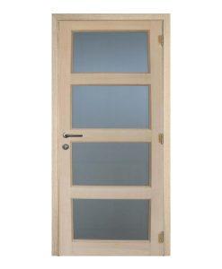 Pannello M06 - Eiken binnendeur met mat glas